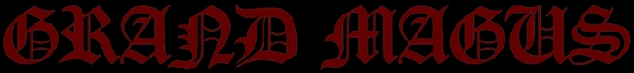 Grand Magus - The Hunt Logo RGB